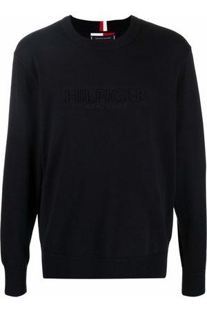 Tommy Hilfiger Hombre Sudaderas - Organic embossed logo sweatshirt