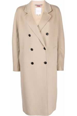 Tommy Hilfiger Mujer Abrigos de lana - Double-breasted wool-blend coat