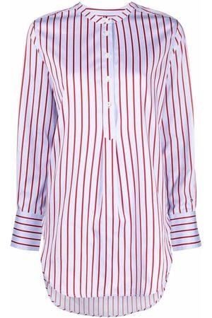 Tommy Hilfiger Mujer Blusones - Sateen stripe tunic shirt