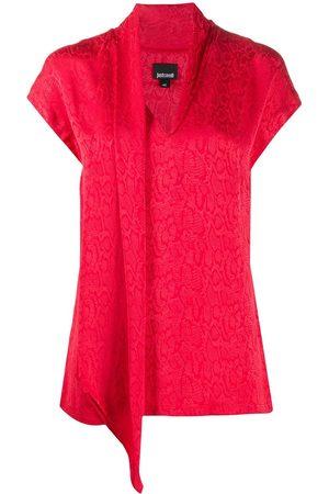 Roberto Cavalli Mujer Blusas - Blusa con motivo de piel de serpiente