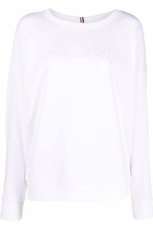 Tommy Hilfiger Mujer Sudaderas - Crew-neck cotton sweatshirt