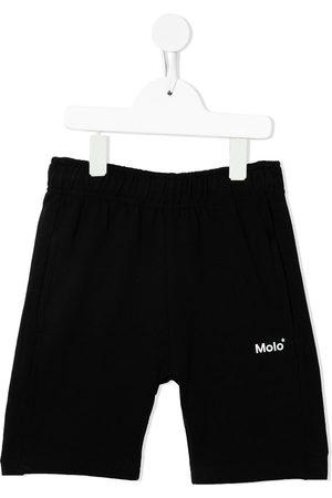 Molo Niño Bermudas - Shorts con logo estampado