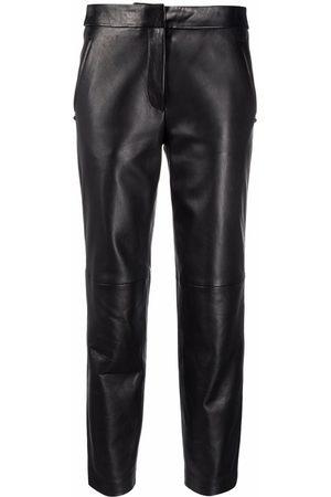 Karl Lagerfeld Mujer Capri o pesqueros - Pantalones de cuero capri