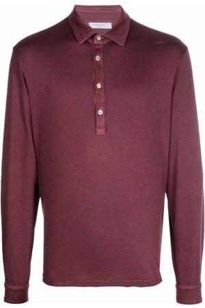Boglioli Hombre Polos - Longsleeved polo shirt