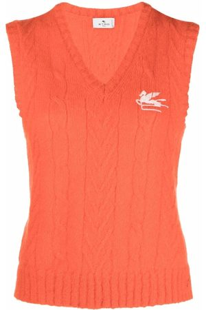 Etro Mujer Tops - Cable-knit vest top