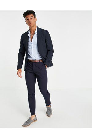 ASOS Skinny suit jacket in navy