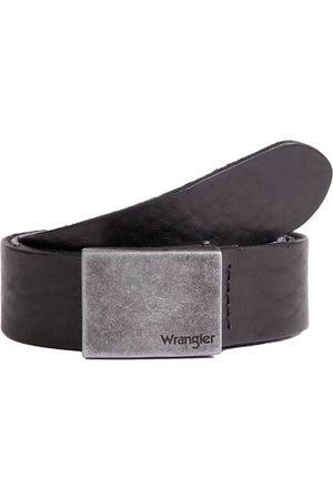 Wrangler Cinturón Plate Buckle 100 cm Black