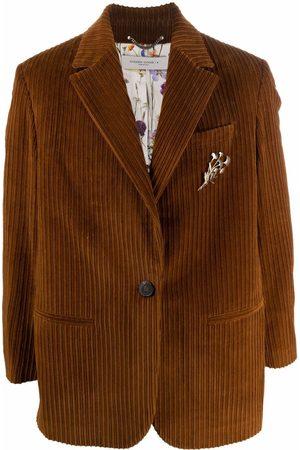Golden Goose Hombre Sacos - Blazer de pana con botones