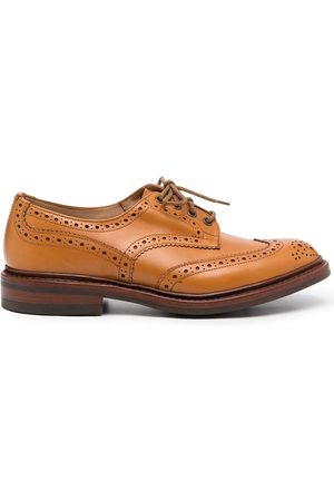 TRICKERS Perforated-design loafers