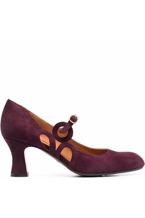 Chie Mihara Cut-out buckled pumps