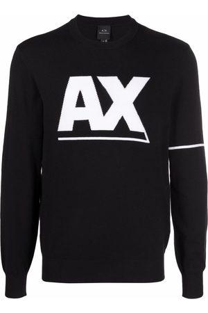 Armani Hombre Suéteres cerrados - Logo crew-neck jumper