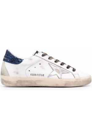 Golden Goose Mujer Tenis - Star-patch lace-up sneakers