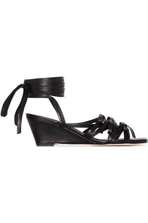 Molly Goddard Mujer Sandalias - Delphine 50mm wedge sandals