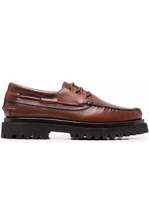 Officine creative Zapatos derby con suela gruesa