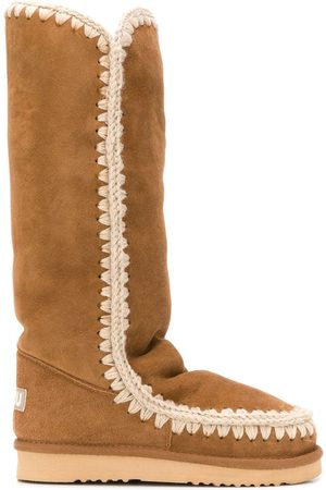 Mou Mujer Botas y Botines - Woven detail boots