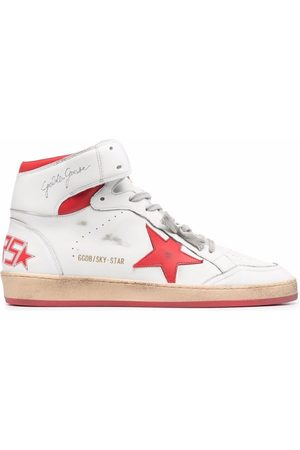Golden Goose Mujer Tenis - Sky-Star high-top lace-up sneakers