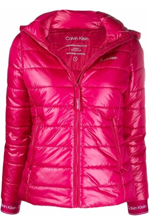 Calvin Klein Quilted padded hooded jacket