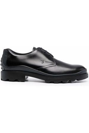 Tod's Hombre Oxford - Zapatos derby con logo grabado