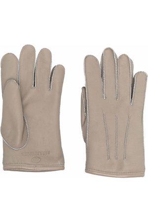 Parajumpers Guantes - Stitched leather gloves