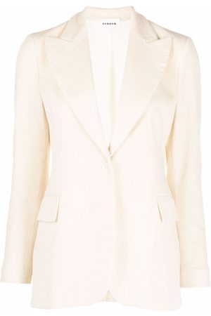 P.a.r.o.s.h. Mujer Sacos - Corduroy single-breasted blazer
