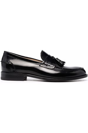 Scarosso Ralph tassel-embellished leather loafers