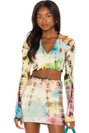 Cotton Citizen Camisa ibiza en color neutral talla L en - Neutral. Talla L (también en M, S, XS).