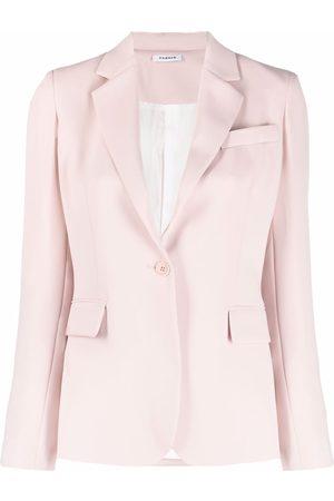 P.a.r.o.s.h. Mujer Sacos - Blazer de vestir con botón
