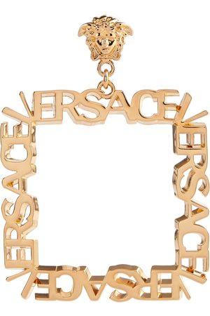 VERSACE Mujer Aretes - Medusa logo earrings