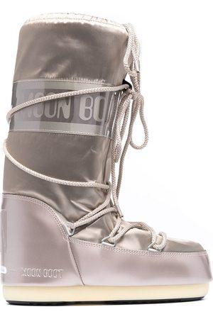 Moon Boot Mujer Tenis - Botas para nieve capitonadas con agujetas