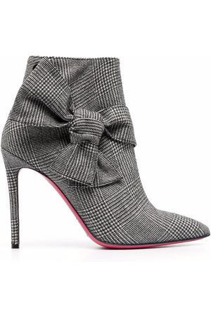 DEE OCLEPPO Mujer Botines - Checked bow-side ankle boots