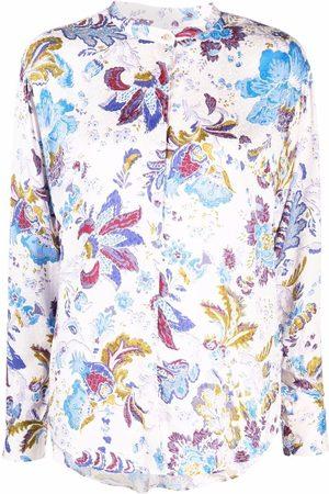 Isabel Marant Mujer Blusas - Floral-print oversized blouse