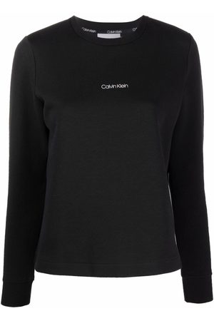 Calvin Klein Mujer Sudaderas - Logo-print sweatshirt