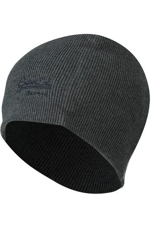Superdry Gorro Vintage Logo Classic One Size Rich Charcoal Marl