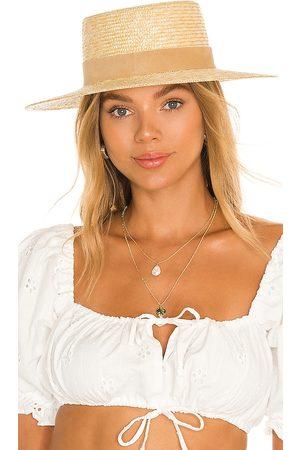 Lack of Color Sombrero spencer en color neutral talla L en - Neutral. Talla L (también en S, M).