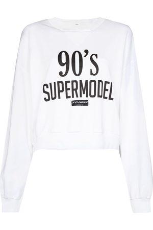 Dolce & Gabbana Sudadera con motivo '90s Supermodel