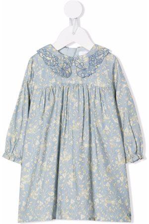 Chloé Estampados - Vestido floral con diseño de túnica