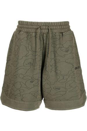 A Bathing Ape Pantalones cortos Line 1st Camo Sweat