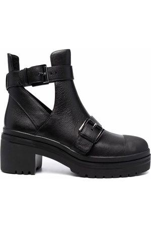 Michael Michael Kors Cut-out buckle ankle boots