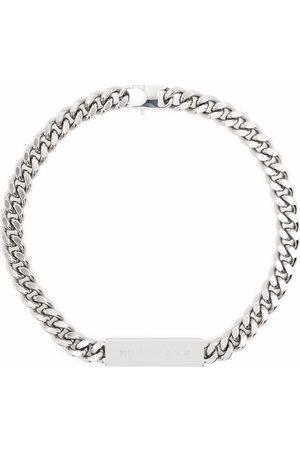 1017 ALYX 9SM Gargantilla de cadena con logo