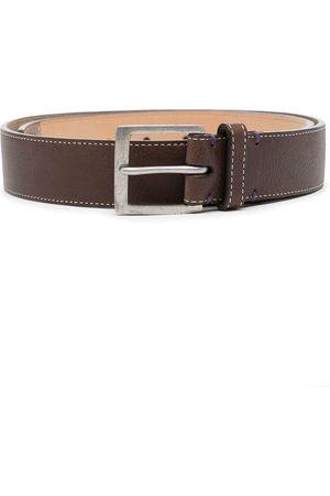 PAUL SMITH Cinturón con costuras en contraste