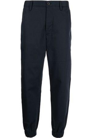Armani Exchange Pantalones chino con tobillos fruncidos