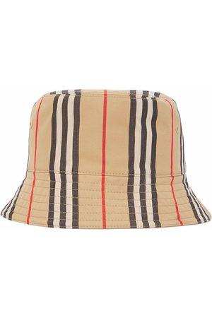 Burberry Mujer Sombreros - Icon Stripe bucket hat