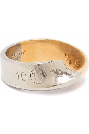Maison Margiela Hombre Anillos - Numbers twisted ring