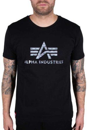 Alpha Industries Camiseta Manga Corta 3d Camo Logo M White / Black Camo
