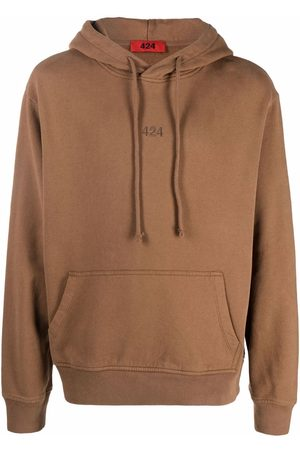 424 Hombre Con capucha - Embroidered logo hoodie
