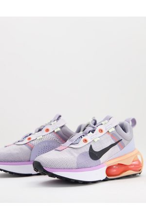 Nike Air Max 2021 trainers in coral and grey