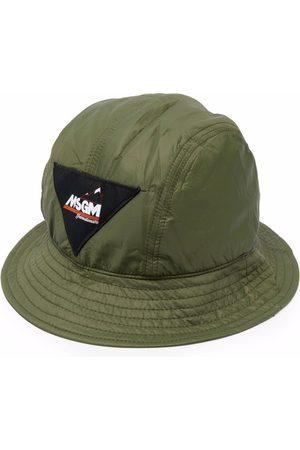 Msgm Sombrero de pescador con parche del logo