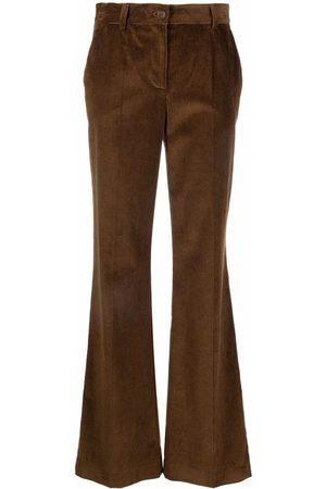 P.a.r.o.s.h. Pantalones de pana rectos