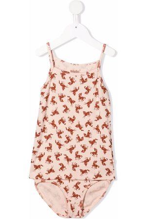 Molo Kids Horse-print underwear set
