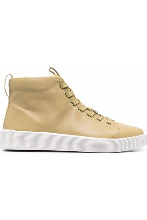 Camper Hombre Tenis - Leather high-top sneakers